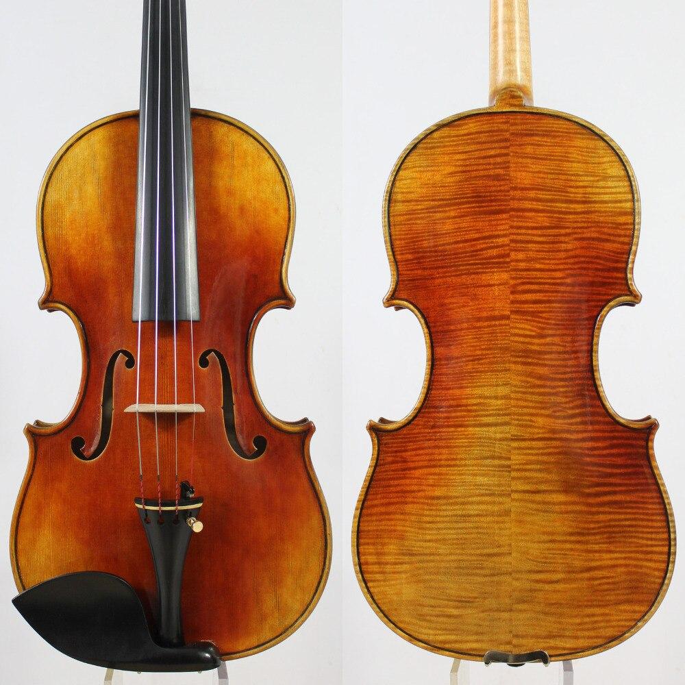 Copy Of Antonio Stradivari La Messie 4 4 Violin All European Wood