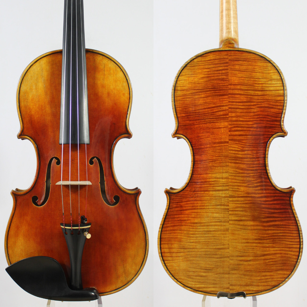 Antonio Stradivari Dolphin 1714 Violin Copy ,Best model! 4/4 Violin ,Oil varnish,Outstanding Strong Tone! master violin identity copy guarneri del gesuthe cannon1743 strong and deep tone free shipping aubert bridge no 3