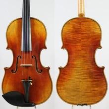 "Antonio Stradivari ""Dolphin"" 1714 Violin Copy ,Best model! 4/4 Violin ,Oil varnish,Outstanding Strong Tone!"