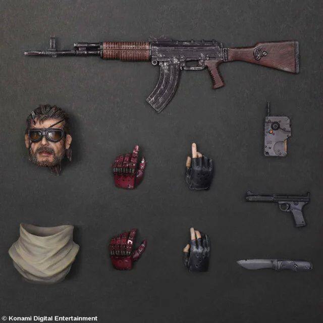 33cm Metal Gear Solid V Snake Action Figure Model Toys