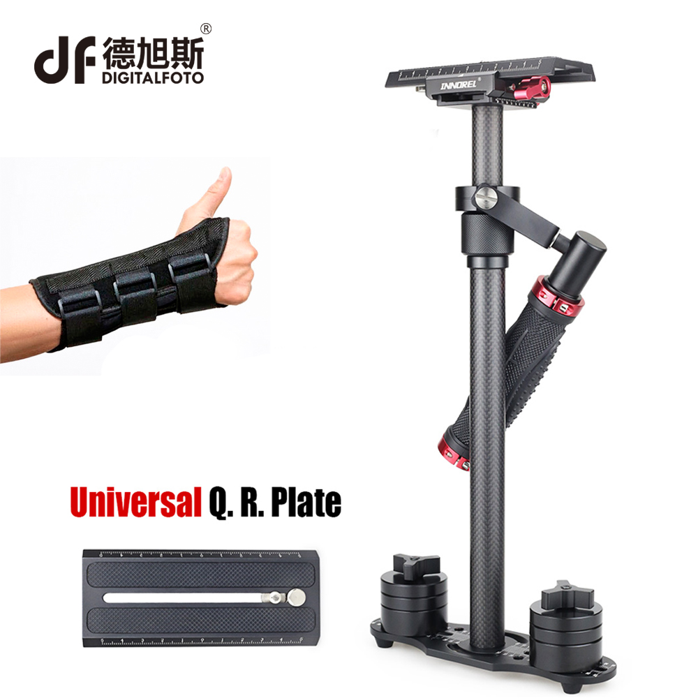 DIGITALFOTO SP70 handheld carbon fiber camera stabilizer steadicam steadycam for Nikon Canon 5D2 5D3 Sony camera filmmaking boya by wm5 by wm6 camera wireless lavalier microphone recorder system for canon 6d 600d 5d2 5d3 nikon d800 sony dv camcorder