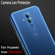 Camera Lens Metal Protector Protection Ring For Huawei Mate 20 lite Mate 20 Soft Tempered Glass