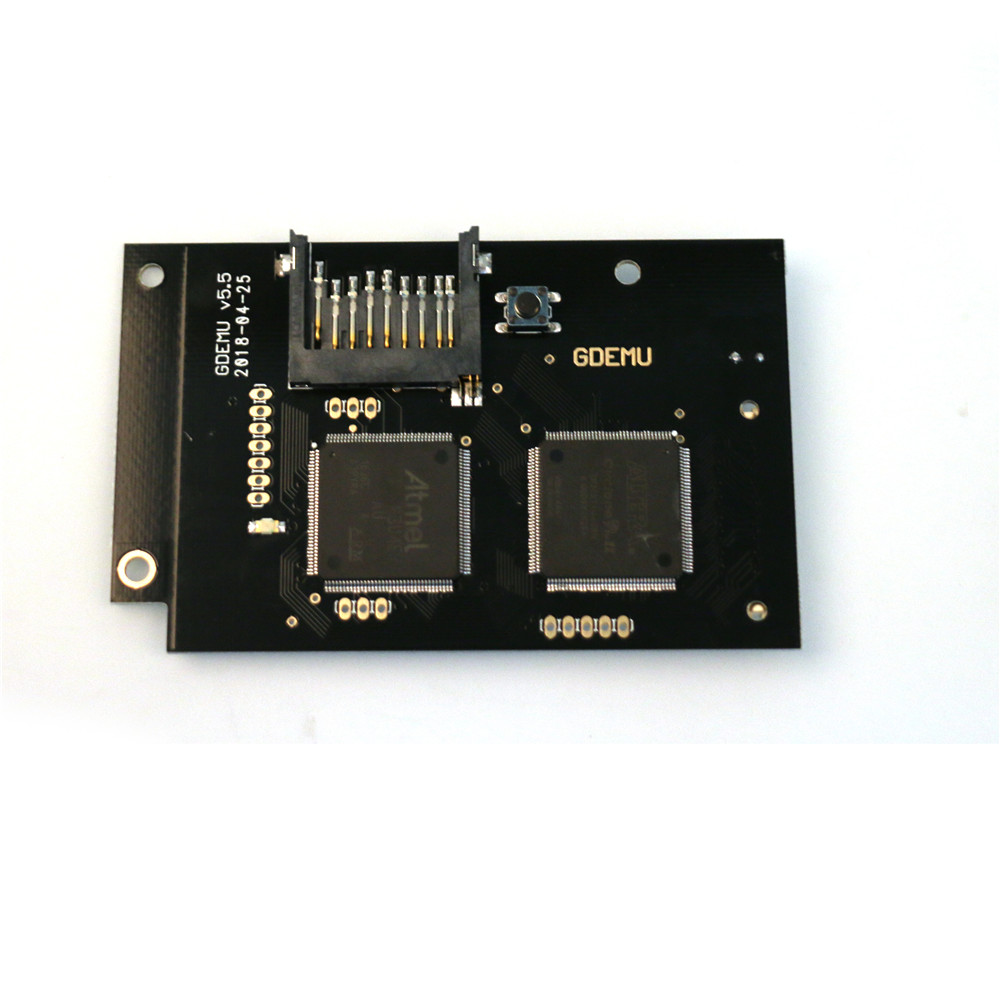 Full New GDEMU Optical Drive Simulation Board for DC Game Machine the Second Generation Built-in Free Disk Replacement Parts цена