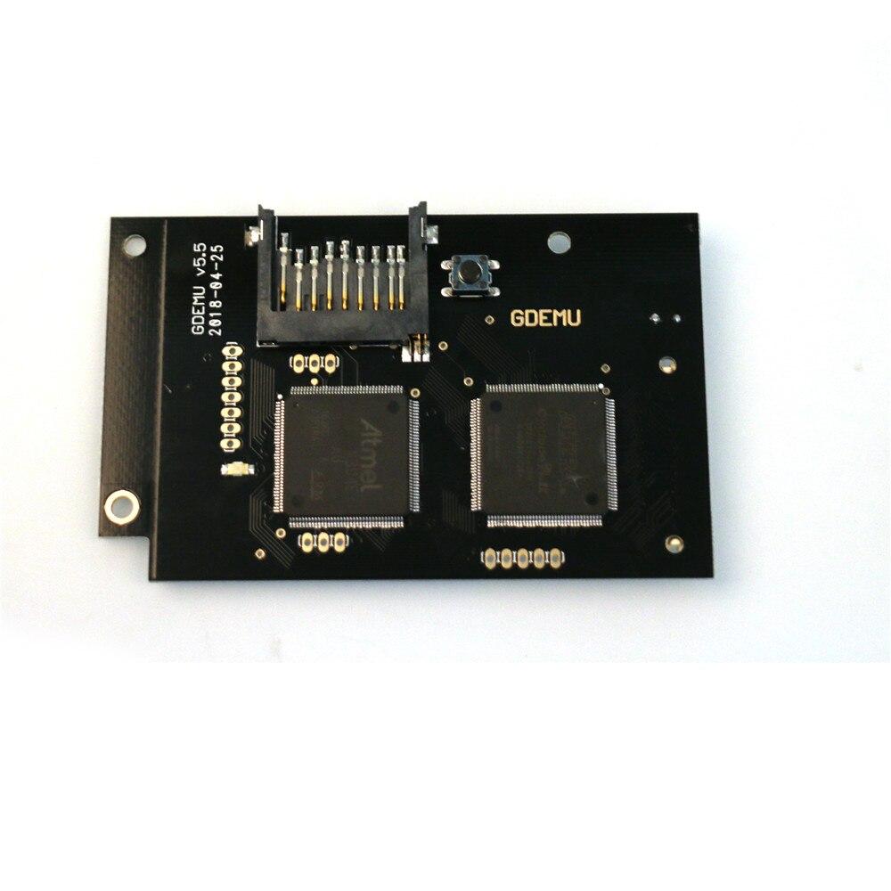 Nuevo tablero de simulación de unidad óptica GDEMU para máquina de juegos DC la segunda generación piezas de repuesto de disco libre incorporado