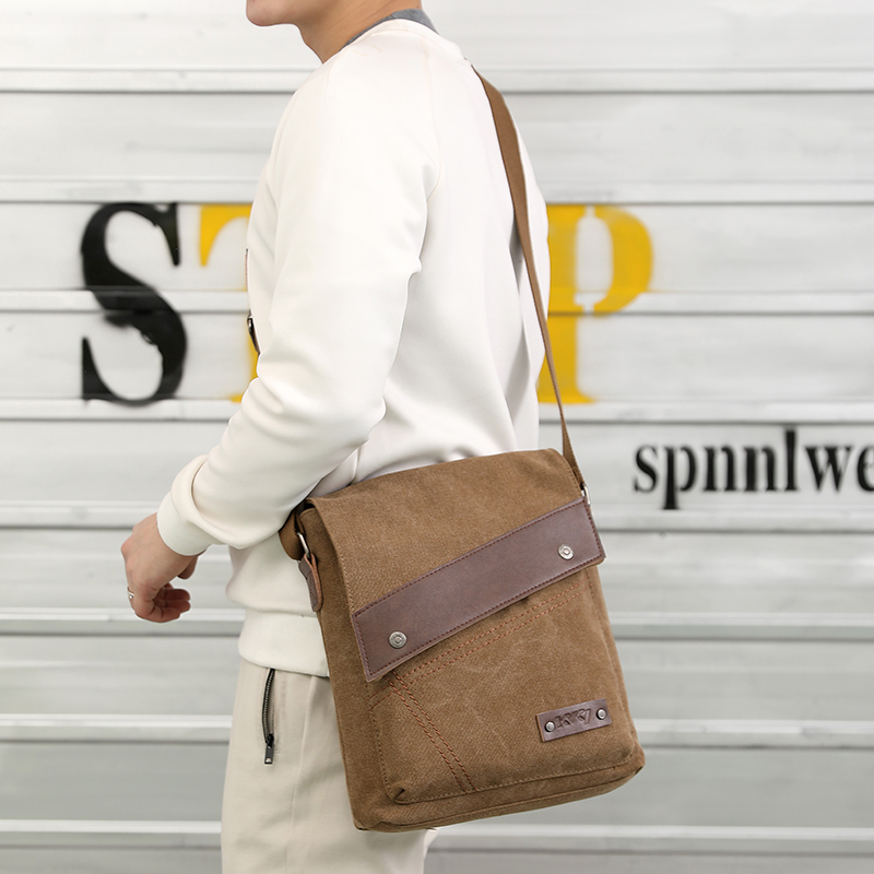 916e709b080 Fashion High Quality Men Handbag Messenger Bag Men canvas Shoulder Business  Messenger Bags Ipad Male Crossbody Bags Travel Bag on Aliexpress.com    Alibaba ...