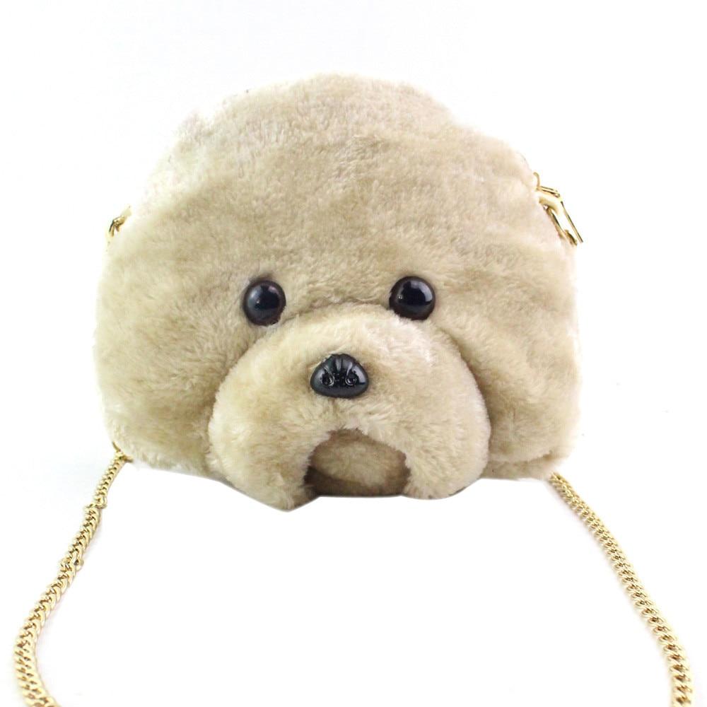 Women Plush Handbag Luxury Handbags Women Bags Designer Women s Messenger Shoulder Chain Bag Ladies Purse