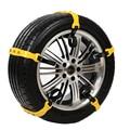 5pcs/set Car Tire Snow Chains Beef Tendon VAN Wheel Tyre Anti-skid TPU Chains Tire Chains Snow Climbing Ground Anti Slip Ch