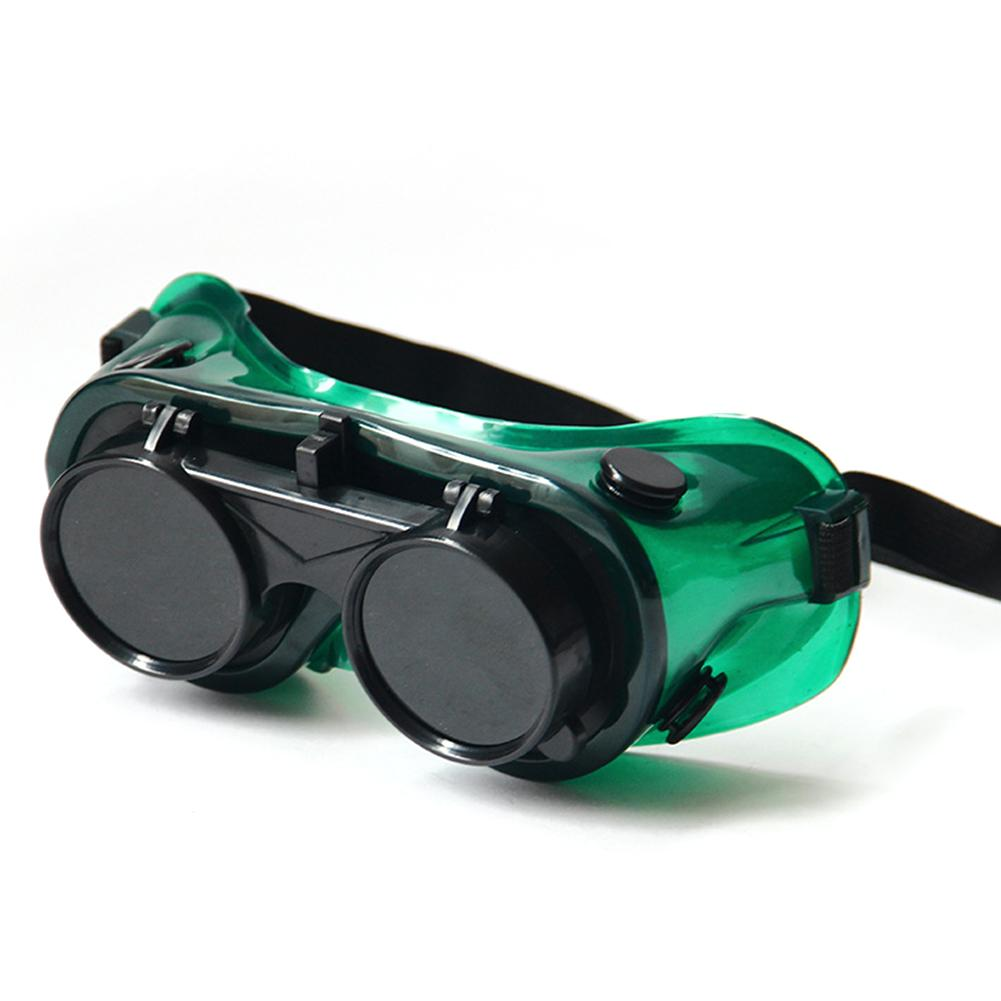 Flip-Up Two Layer Welding Safety Glasses Eye Protector For Welding Soldering Cutting Work Safety Goggles Eye Protection