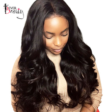 Ever Beauty 250 Density Lace Front Human Hair Wigs Body Wave Brazilian Remy Hair 14 24inch