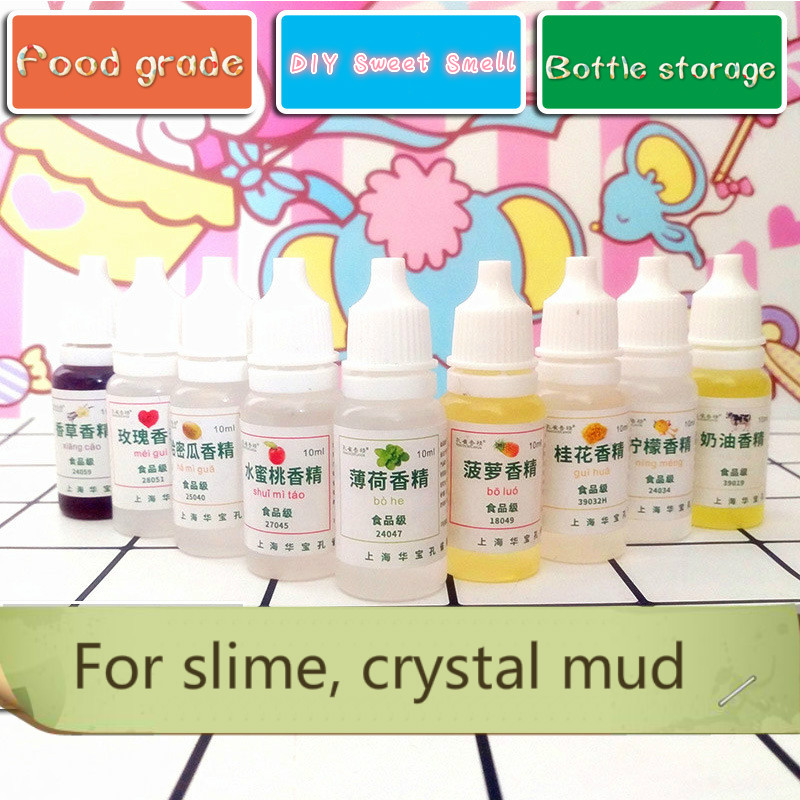 Creative Make Your Slime Smell Sweet DIY Fruit Flower Flavor Slime Perfume Safe Aroma Solution Clay Mud Modeling Clay/Slime Tool