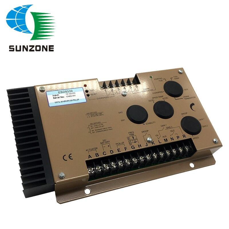 Запчасти для генератора, блок управления скоростью ESD5330, устройство управления скоростью ESD5330, регулятор скорости