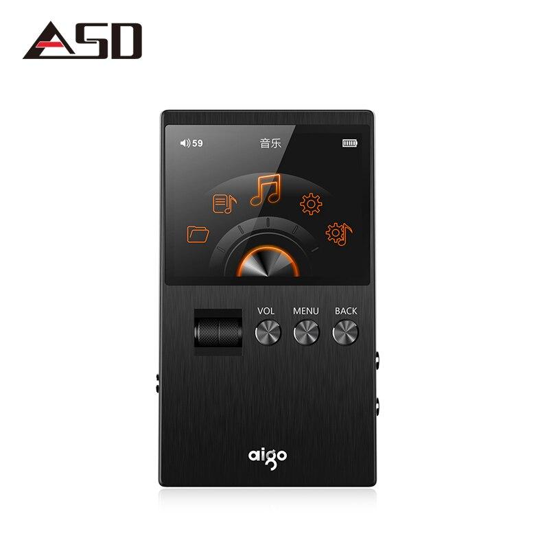 ASD Aigo M6 DSD64 32 г Портативный аудио Hifi без потерь Музыкальный плеер Высокое качес ...