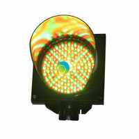 High brightness PC housing DC12V  200mm mix red and green LED traffic signal light for sale