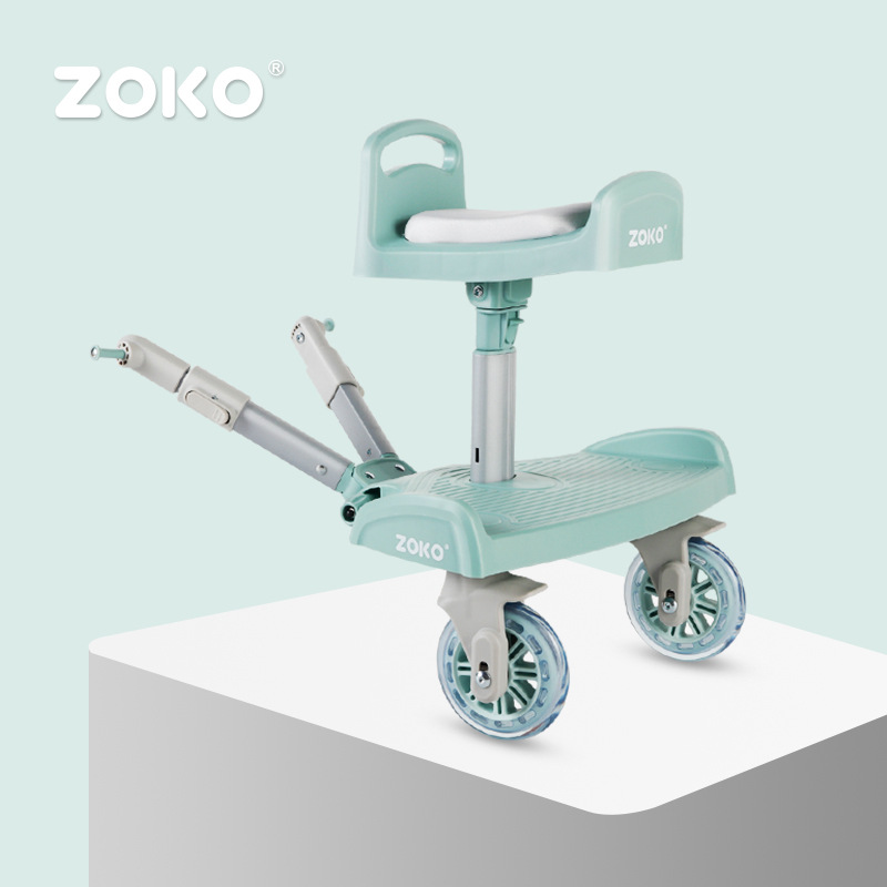 Second child artifact baby stroller twin seat accessories child auxiliary pedal rear hanging trailer standing small tail carSecond child artifact baby stroller twin seat accessories child auxiliary pedal rear hanging trailer standing small tail car