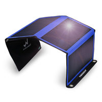 2018 New Arrival PowerGreen SUNPOWER Panel 21W Folding Solar Charger Bag Mobile Phone Solar Power Bank