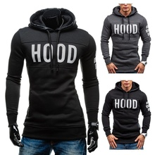 Zogaa Hot Men Hoodies Fashion Mens Simple Fight Spell Hooded Sale Autumn and Winter New High Quality Soft Comfortable