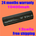 JIGU 12 Cells 10400mAh battery for HP for Compaq MU06 MU09 CQ42 CQ32 G62 G72 G42 G72 G4 G6 G7 593553-001 DM4 Battery g6