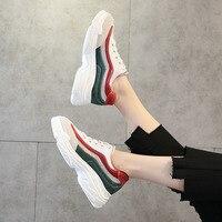 75eb491ff ... sapatos fogo selvagem feminino Harajuku couro liso casuais. 2018 Spring  New Super Fire Shoes Female Wild Leather Flat Shoes Harajuku Casual Shoes