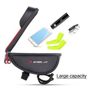 Image 5 - מקרה עמיד למים אופניים נייד מחזיק מעמד עבור iphone 11 XS Max XR טלפון תיק עבור סמסונג S10 S9 בתוספת אופני מול תיק כידון