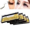 60 pcs Preto Indivíduo Natural Falso Pestana Cluster Eye Lashes Extensão Maquiagem