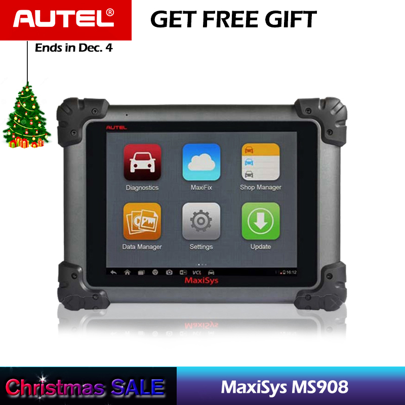 Autel Maxisys MS908 Automotive Diagnostic Tool Scanner Analysis System with All