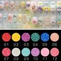 New Arrival 12 Colors 5g/Box Nail Glitter Powder Pigment Coral Powder Chrome Pigment Nail Glitters Sequin Nails Art DIY Manicure