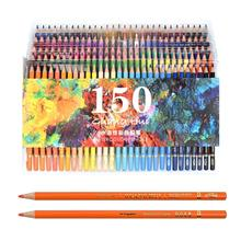 Colored pencil Professional Watercolor Pencil Set Art Supplies for Coloring Drawing Shading Fine Point Lead Nontoxic Water