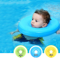 New 1 Piece Aids Infant Swimming Neck Inflatable Float Safety Ring Baby Collar For Swim Pool