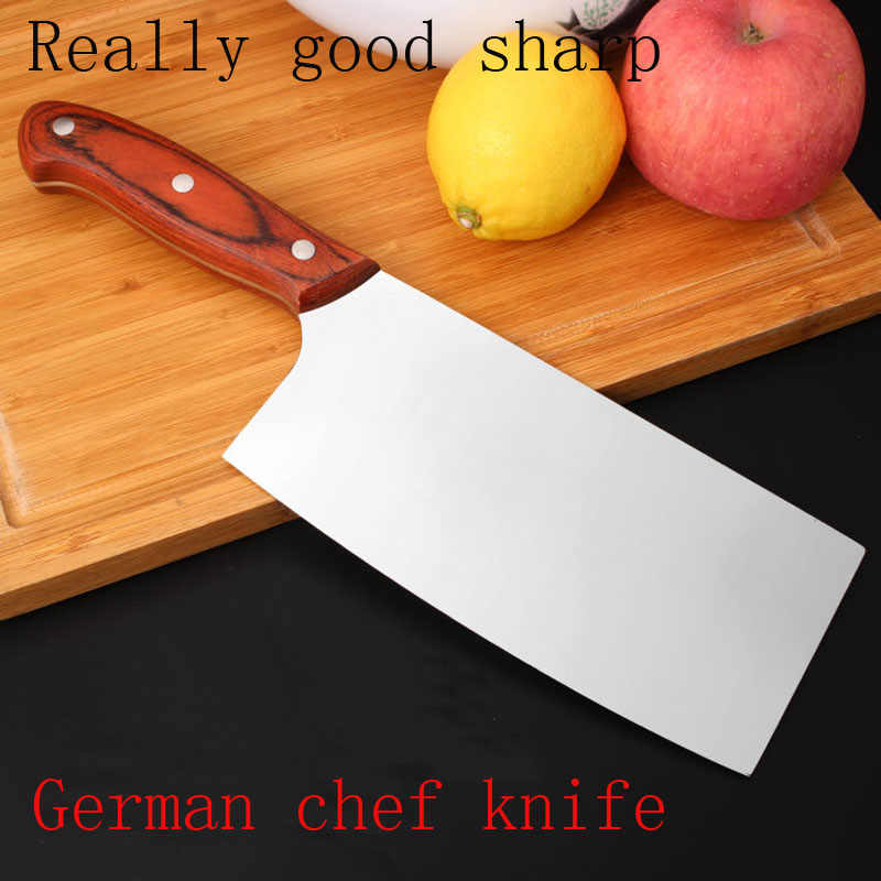 "New Sharp japanese kitchen knife 7"" chef knife multifunctional stainless steel meat Cleaver Filleting Knives kitchen accessories"
