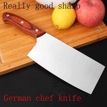 """Neue sharp japanische küchenmesser 7 """"kochmesser multifunktionale edelstahl fleisch cleaver filetieren messer küche zubehör"""