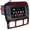 Два Din7 Дюймовый Android Dvd-плеер Автомобиля Для Mercedes/Benz/S280/S320/S350/S400/S500/W220/W215/C Class S-класса GPS Навигации Радио