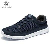 Zapatos de marca transpirables superligero para hombre, zapatos informales de talla grande 49 50, zapatillas cómodas para caminar de hombre
