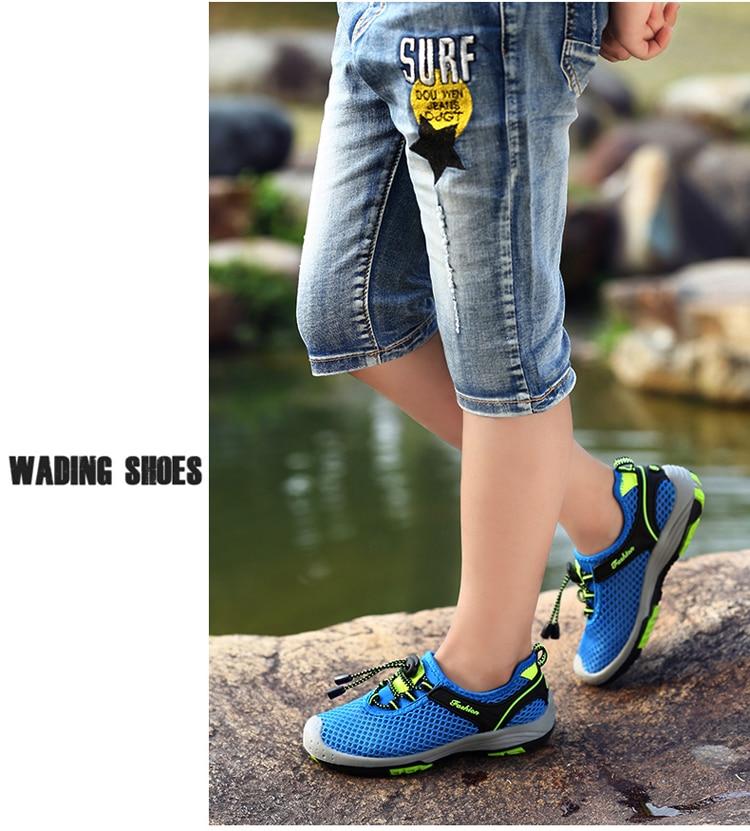 ao ar livre do esporte sapatos anti deslizamento wading sapato