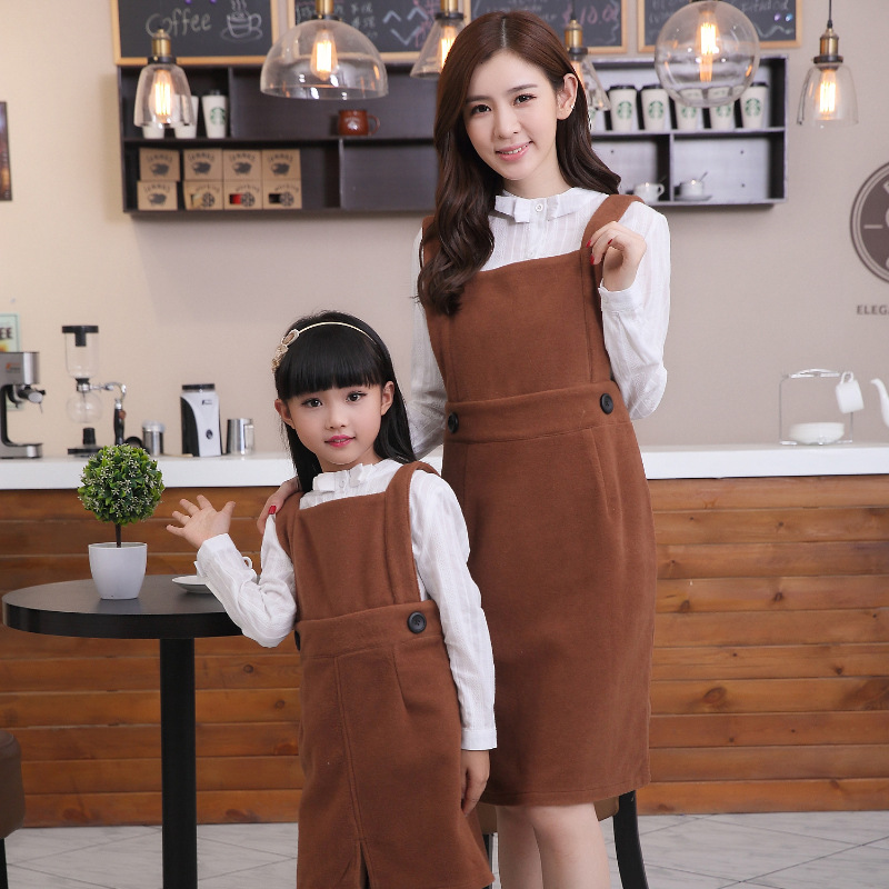 1 Pc Mother Daughter Dresses Autumn Velour Overalls Family Matching Outfits Mom Mama Bear Baby Vestidos Kids Children Clothing1 Pc Mother Daughter Dresses Autumn Velour Overalls Family Matching Outfits Mom Mama Bear Baby Vestidos Kids Children Clothing