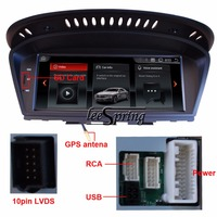 8 8 Touch Android System GPS Navigation For BMW 5 Series E60 E61 E63 E64 2003