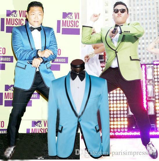 New Arrival Plus Size 2015 Men Suits Sky Blue Blazers Groom Tuxedos ...