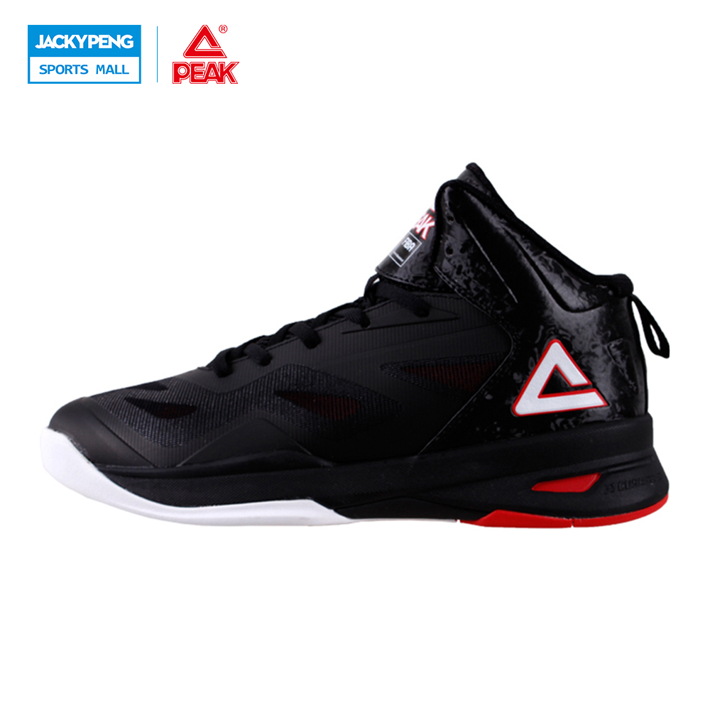 PEAK SPORT Soaring II Men Basketball Shoes Breathable Athletic Ankle Boots Cushion-3 REVOLVE Tech Training Sneaker EUR 40-50 peak sport speed eagle v men basketball shoes cushion 3 revolve tech sneakers breathable damping wear athletic boots eur 40 50