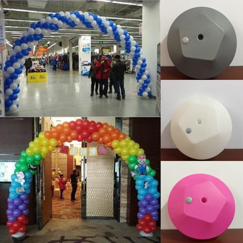 180cm Plastic Base for Balloon Arch base Wedding Balloon Outdoor Garden Party Decor/ Market Promotional Advertising Big Base