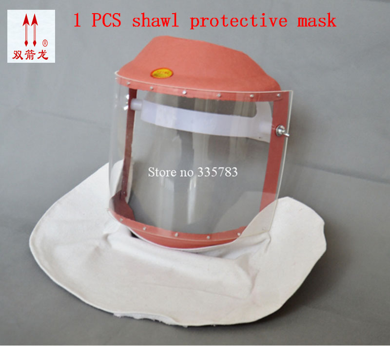High quality safety mask PC material welding spraying protect mask striking resistant anti sling full face safety masks 50pcs high quality dust fog haze oversized breathing valve loop tape anti dust face surgical masks