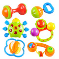2016 Durable Baby Hand68Bell Hand Shake Bell Rattle Lovely Toys