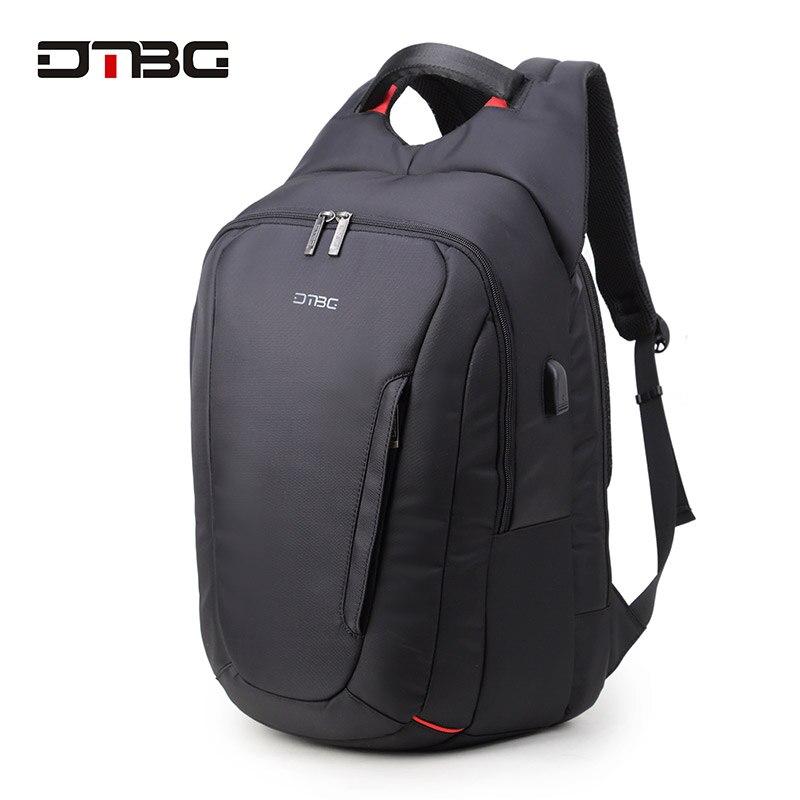 DTBG sac à dos pour ordinateur portable 15.6 pouces USB charge Anti-vol sac à dos hommes femmes voyage sac à dos étanche sac d'école homme sac à dos