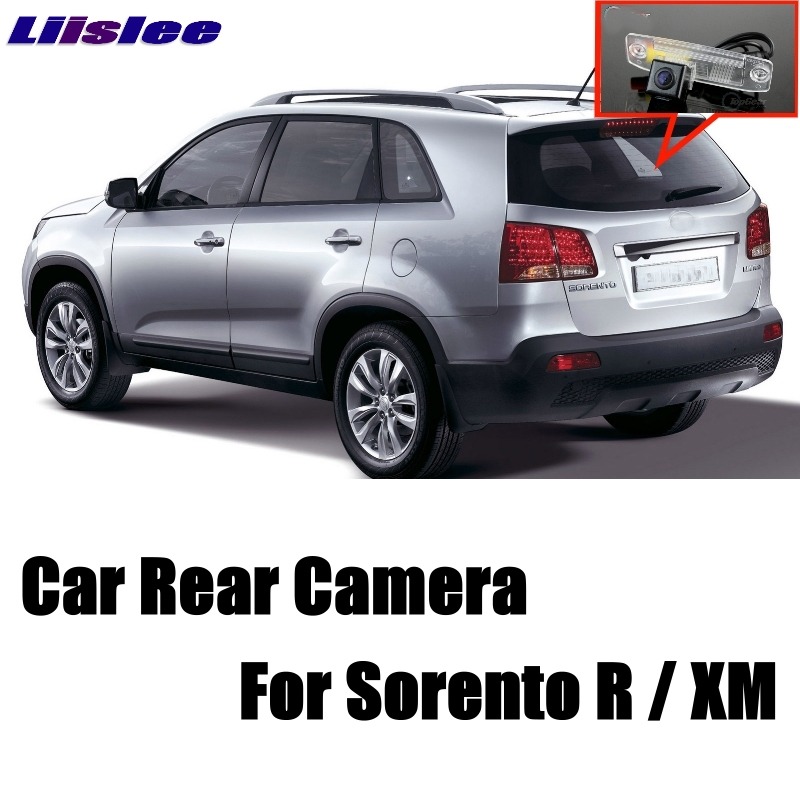 LiisLee Voiture Caméra Pour KIA Sorento R Pour NAZA Sorento XM MK2 2007 ~ 2018 Haute Qualité Arrière View Back Up Caméra CCD + RCA