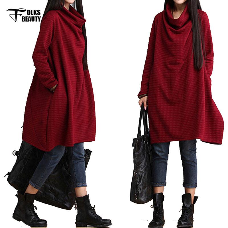 seoras vestidos casuales ropa larga longitud de la rodilla red dress mujer moda vestidos para