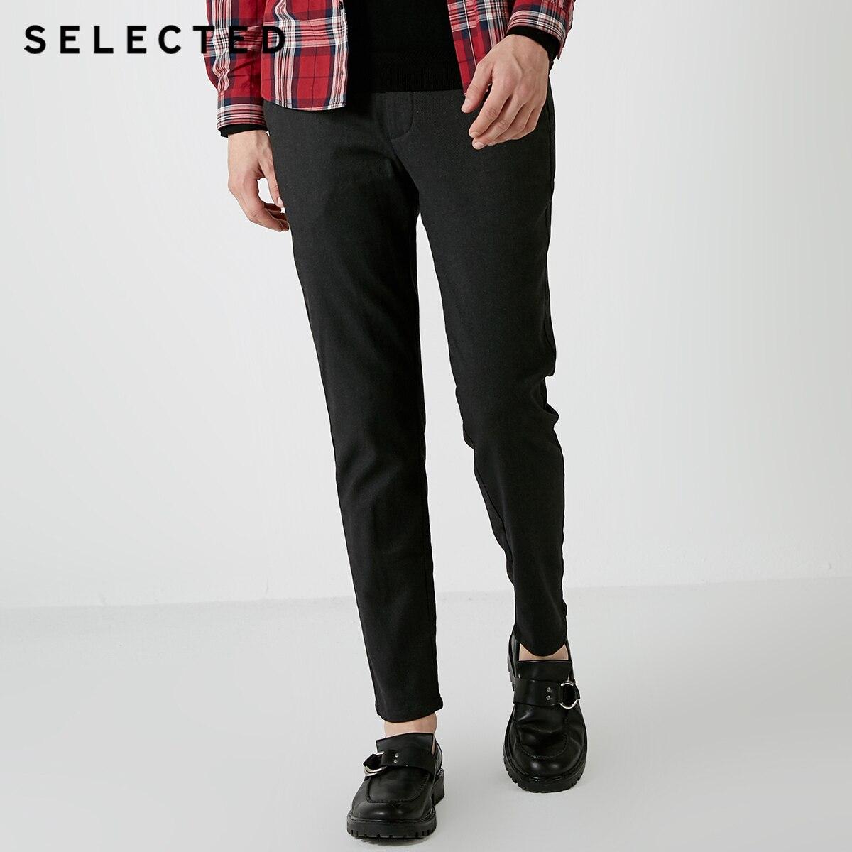 Sélectionné, blackrock hiver nouveaux hommes cultiver moralité couleur pure loisirs pantalon S  418414538-in Casual Pantalon from Vêtements homme on AliExpress - 11.11_Double 11_Singles' Day 1