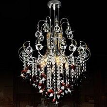 Провиденциальное мода современный кристалл подвесные светильники, Хорошо декоративных гостиной огни кристалл K9 свет / / лампа ( 20% )
