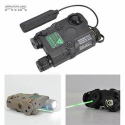 EEN/PEQ-15 Groen Dot Laser Witte LED Zaklamp 270 Lumen voor Standaard 20mm rail Nachtzicht Hunting Rifle batterij Case Element