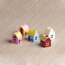 3PCS/lot 1.7×1.5cm Doll house Handmade house birthday gifts 3D puzzles for adults and lovers dream house children color random