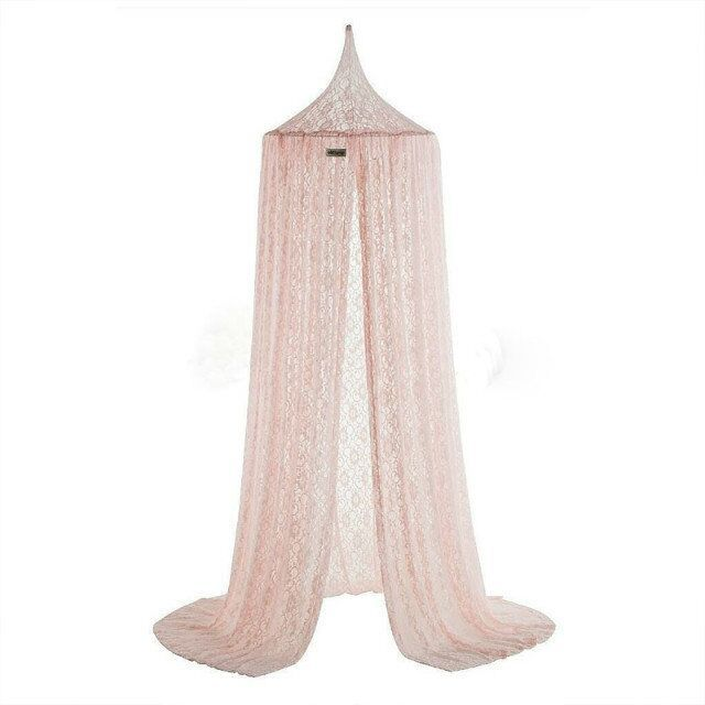 New Elegant Lace Kids Bed Canopy Netting Curtain Round Dome Mosquito Net Bedding Baby Bed Mosquito