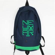 New Fashion Neymar Canvas Backpack Men Women Backpacks Travel Bagpack Foot Ball Children School Bag Mochila Escolar