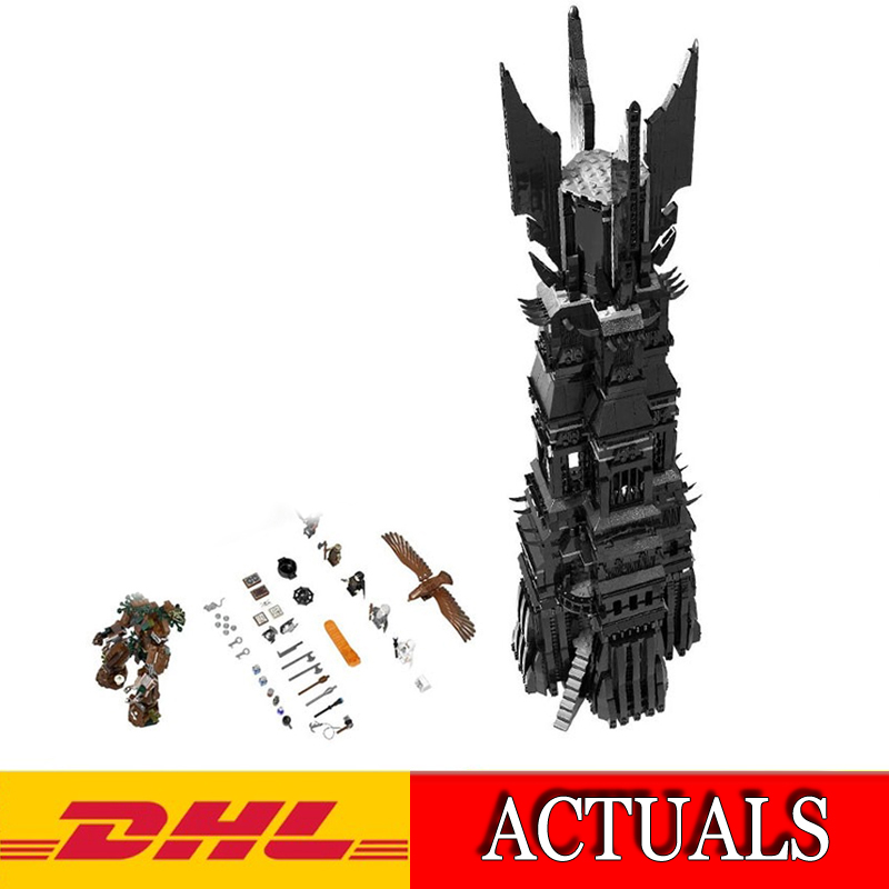 2018 Lepin 16010 2430Pcs Lord of the Rings The Tower of Orthanc Model Building Kits Blocks Brick Compatible Children Toys 10237 single sale medieval castle knights dragon knights the hobbits lord of the rings figures with armor building blocks brick toys